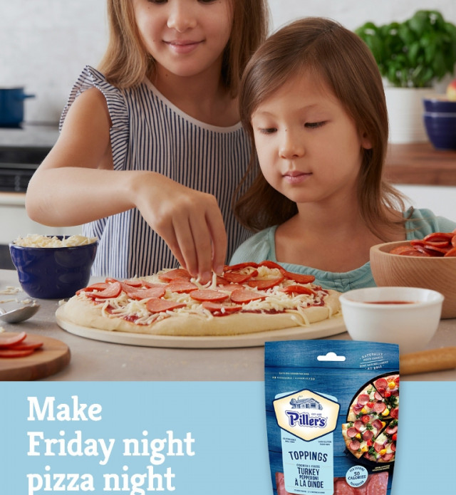 Make friday night pizza night